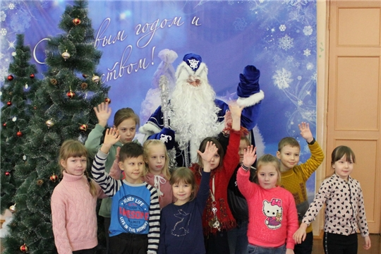 Закрытие Резиденции Деда Мороза в Центре детского творчества