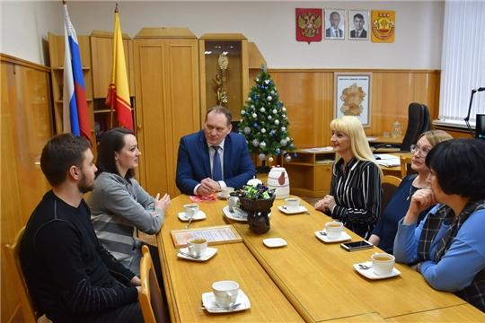 Поздравление местных СМИ с Днем Российской и Чувашской печати