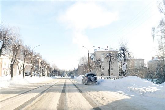 Расчищенные дороги, улицы частного сектора