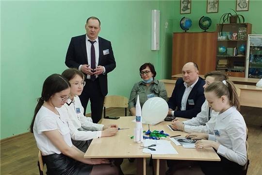 Глава администрации города Шумерля Валерий Шигашев и депутаты Собрания приняли активное участие в познавательном мероприятии «Путем звезд»