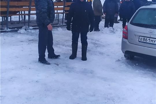 Мероприятие «Снегоход-2021» в Яльчикском районе
