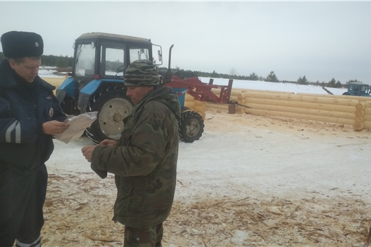 Профилактическое мероприятие «Снегоход 2021» в Алатырском районе