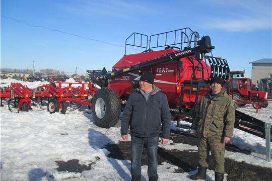 В хозяйствах Яльчикского района начались комиссионные смотры готовности к весенним полевым работам «Весна-2021»