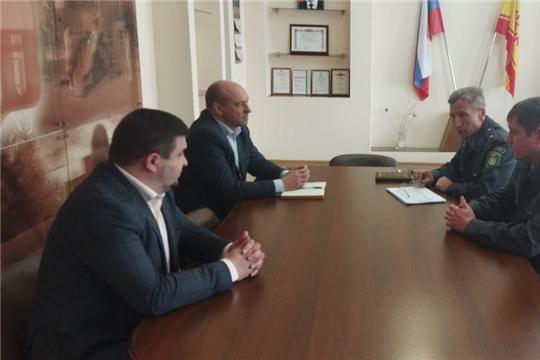 Димитриев В.П. посетил Алатырский район