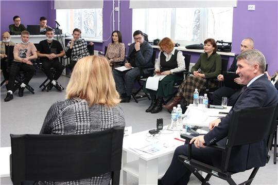Глава Чувашии пообщался с блогерами