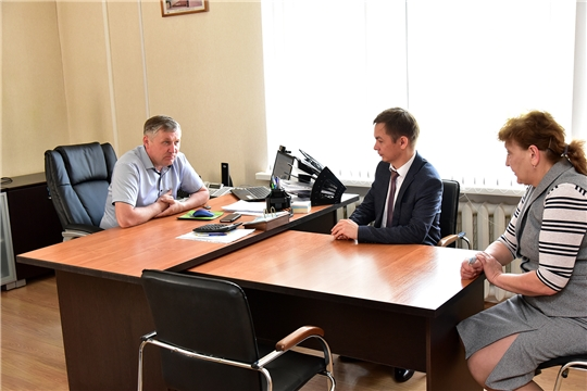 Руководитель государственной ветеринарной службы Чувашской Республики Константин Викторов посетил Ибресинский район