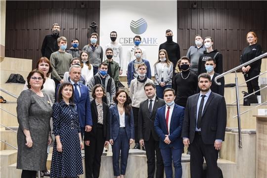 Представители Правительства Чувашии встретились со студентами школы IT -профессий