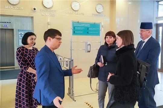 Кристина Майнина посетила АО «ТАТМЕДИА»