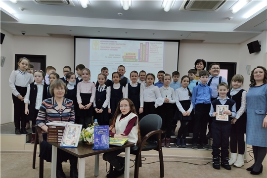 Редакторы Чувашского книжного издательства представили читателям детские новинки
