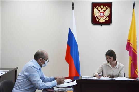 Кристина Майнина провела прием граждан