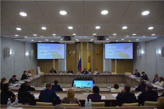 Заседание Комиссии по цифровому развитию и использованию технологий в Чувашии
