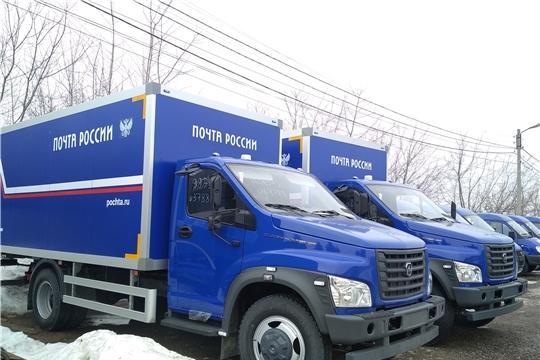 В Чувашии Почта России обновила половину автопарка