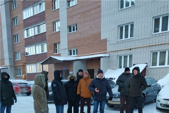 В Калининском районе г.Чебоксары состоялись субботние обходы территорий