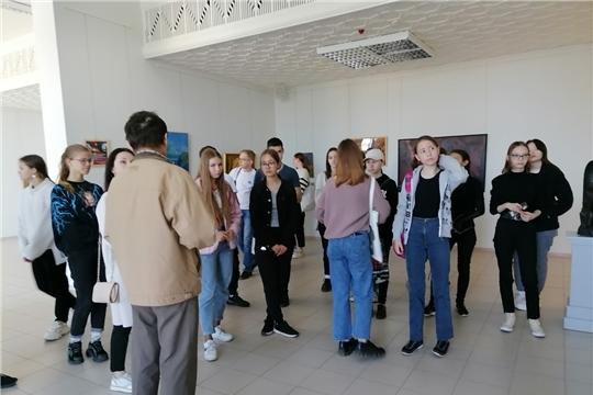 В Чебоксарах прошла творческая встреча с известным скульптором - Владиславом Зотиковым