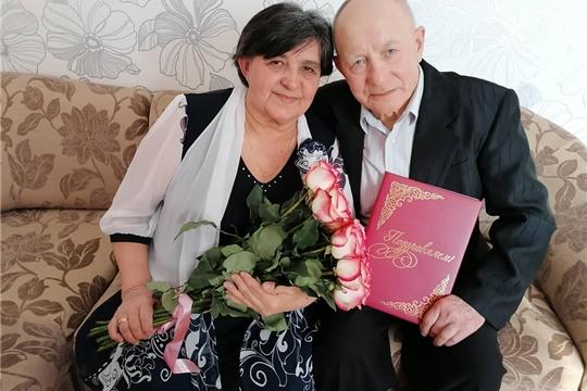Отдел ЗАГС поздравил супругов Пигальцевых с золотой свадьбой