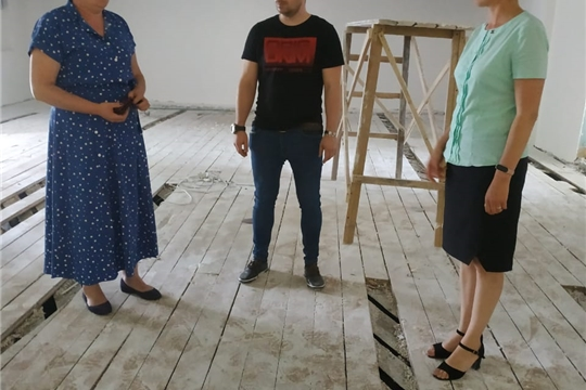 Посещение Малобикшихского сельского Дома культуры