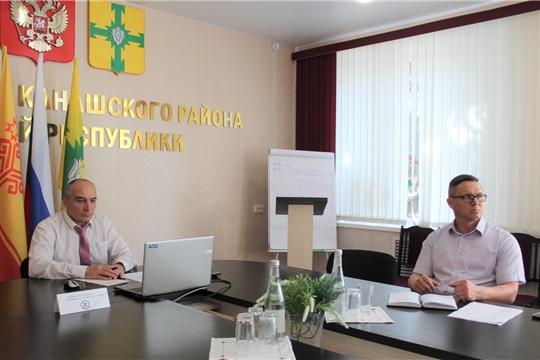 Заседание Оперативного штаба по предупреждению завоза и распространения новой коронавирусной инфекции на территории Канашского района