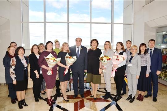 24 года со дня образования Контрольно-счетной палаты Чувашской Республики