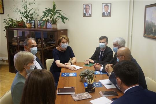 Рабочий визит представителей Счетной палаты Республики Таджикистан