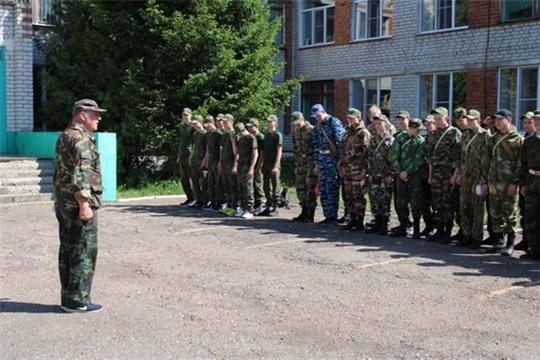 Учебные сборы с юношами 10-х классов общеобразовательных школ Комсомольского района