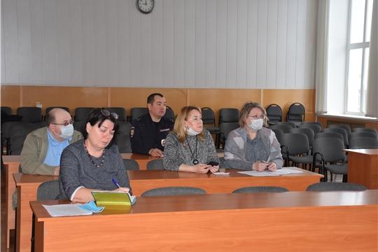 Состоялось заседание Оперативного штаба по предупреждению распространения коронавирусной инфекции