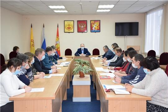 Прошло заседание районной комиссии по предупреждению и ликвидации ЧС и обеспечению ПБ.