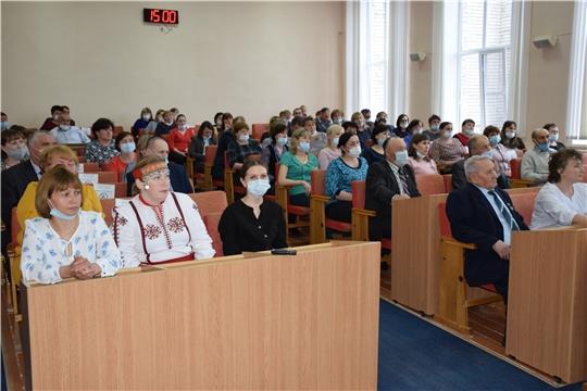 Торжественное собрание, посвящённое Дню местного самоуправления.