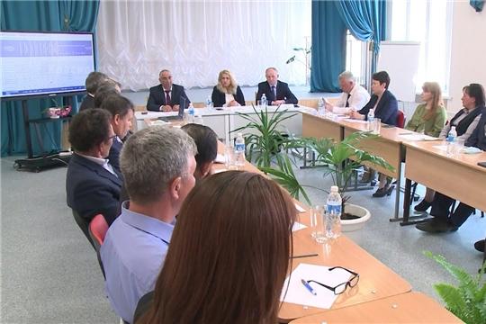 Министр образования Чувашской Республики Алла Салаева посетила Красночетайский район