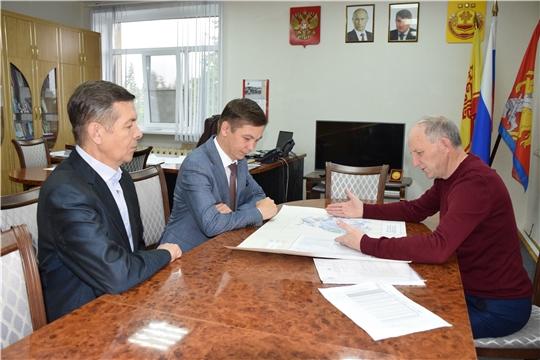 Красночетайский район посетил руководитель Госветслужбы Чувашии Константин Викторов