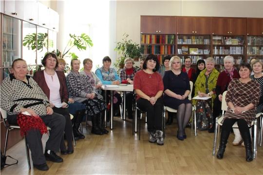 Центральная районная библиотека Мариинско-Посадского района провела выездное мероприятие в рамках празднования 150-летия Национальной библиотеки Чувашской Республики