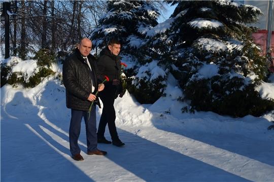 Всероссийская акция «Защитим память героев» в Мариинско-Посадском районе