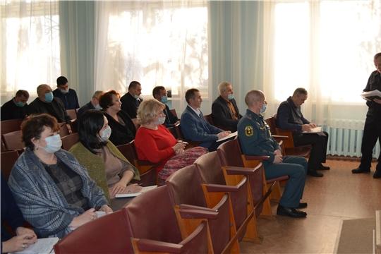 Плановое совещание в администрации Мариинско-Посадского района