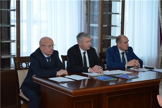 Министр промышленности Чувашии Евгений Герасимов встретился с предпринимателями Мариинско-Посадского района