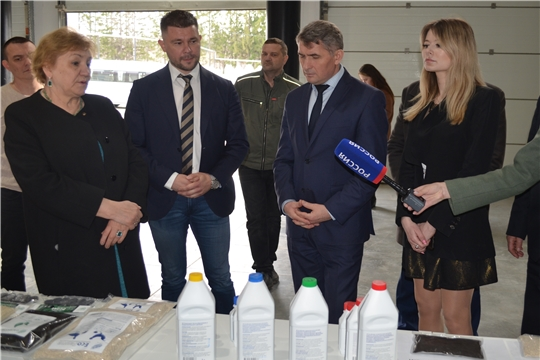 Глава Чувашии Олег Николаев с рабочим визитом посетил Мариинско-Посадский район