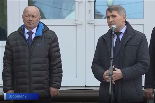 Глава Чувашии посетил малую родину космонавта Андрияна Николаева