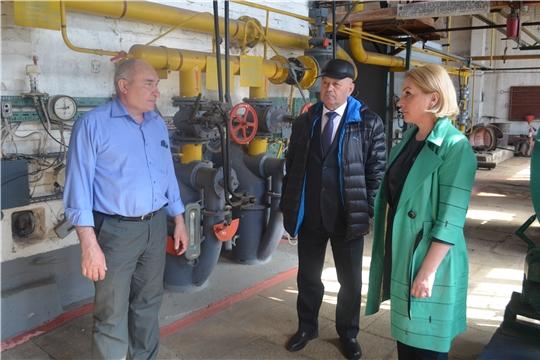 Руководитель Госслужбы Чувашии по конкурентной политике и тарифам Надежда Колебанова посетила Мариинско-Посадский район