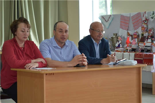 Рабочие встречи в сельских поселениях района
