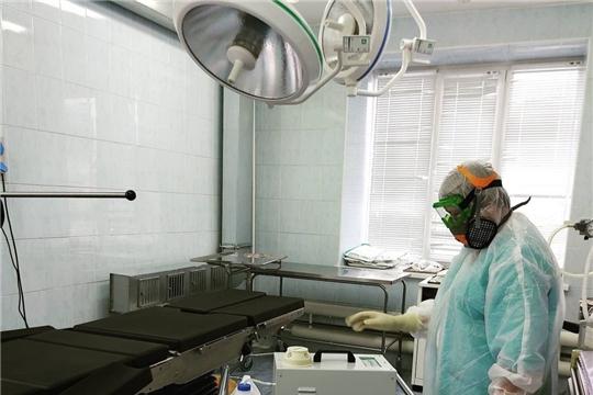 В Новочебоксарский перинатальный центр поступило новое оборудование для дезинфекции воздуха
