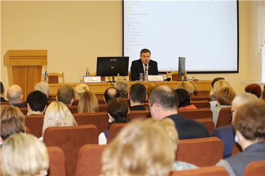 На Коллегии Минздрава Чувашии обсуждены маршруты оказания медпомощи в период пандемии COVID-19