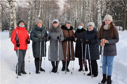 На предприятиях республики пройдут мастер-классы по скандинавской ходьбе