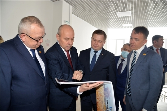 Министр здравоохранения Владимир Степанов принял участие в подведении итогов социально-экономического развития Батыревского района