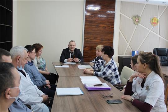 В Новочебоксарском медицинском центре состоялось совещание по вопросам работы детской травматологической службы