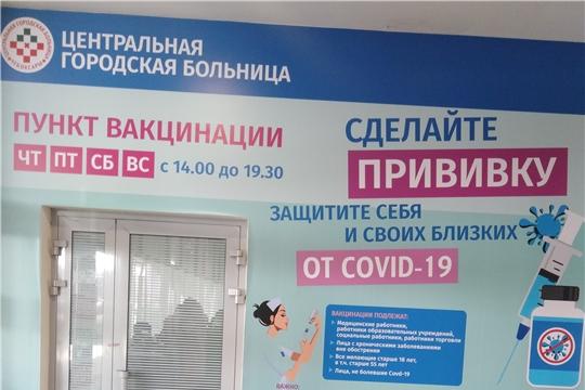 В торговом центре в г. Чебоксары пройдет второй этап вакцинации от COVID-19
