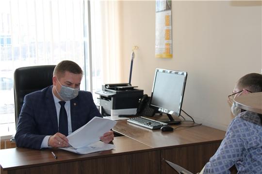 Министр здравоохранения Владимир Степанов провел прием граждан по личным вопросам