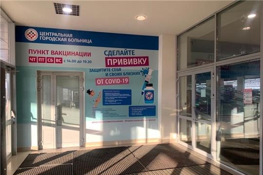 В Чебоксарах в торговом центре пройдет вакцинация от COVID-19