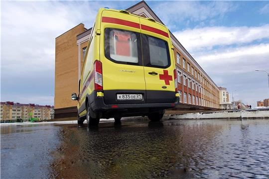 Срочный вызов – в Новочебоксарске бригада скорой помощи приняла роды