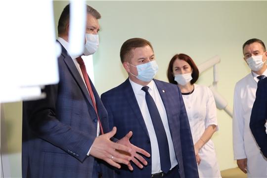 Министр здравоохранения Чувашии Владимир Степанов посетил Чебоксарский район