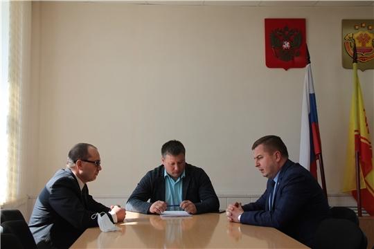 Владимир Степанов посетил Урмарский район