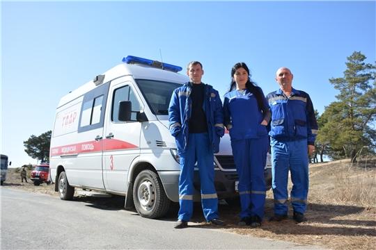 Пожары за Волгой: экстренные службы Чувашии отработали действия при ЧС