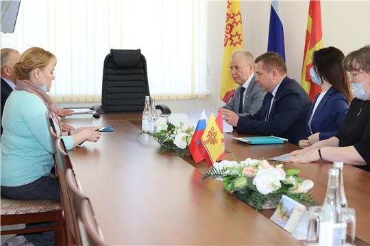 Министр здравоохранения Чувашии Владимир Степанов посетил Красноармейский район